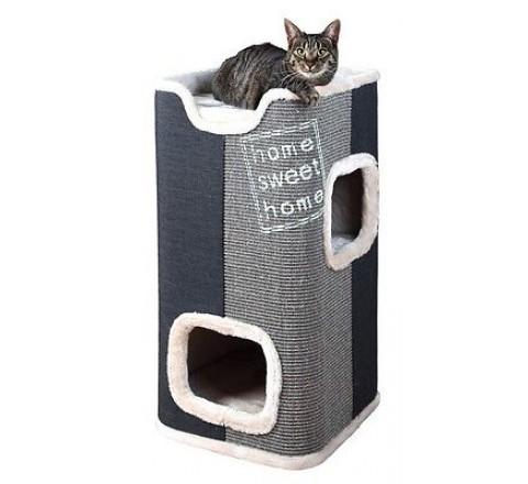 TRIXIE CAT TOWER CUCCIA X GATTI 2 PIANI CON TIRAGRAFFI
