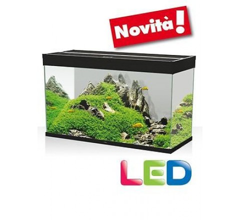 ACQUARIO ASKOLL EMOTIONS NATURE PRO LED 80 NERO CON FILTRO PRATIKO 200