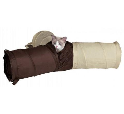 TRIXIE PLAY TUNNEL NYLON GATTO CAT GIOCO PER ANIMALI PICCOLI CONIGLI