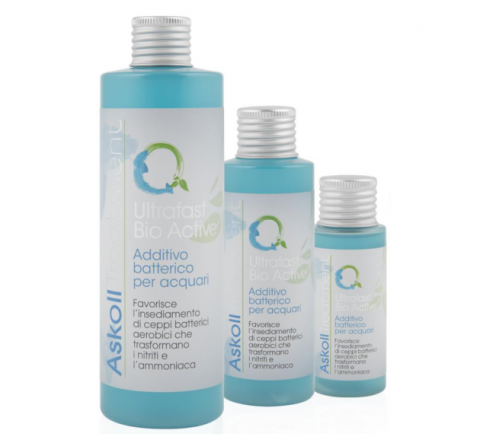 NUOVO BIOCONDIZIONATORE ASKOLL TREATMENT ULTRAFAST BIO ACTIVE 120 ml PER ACQUARI