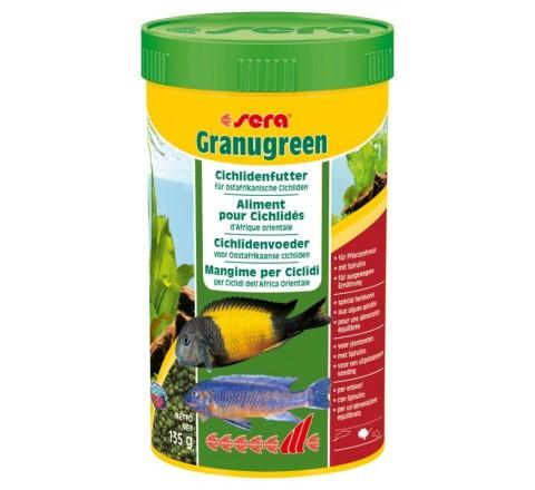 SERA Granugreen grammi 135 ml 250 Mangime vegetale in granuli pesci vegetariani