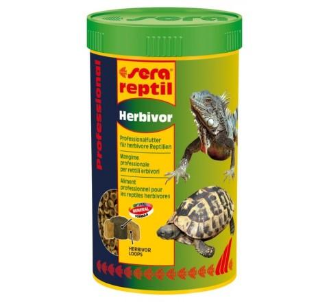 SERA REPTIL PROFESSIONAL HERBIVOR MANGIME RETTILI TARTARUGHE ERBIVORI 1 litro