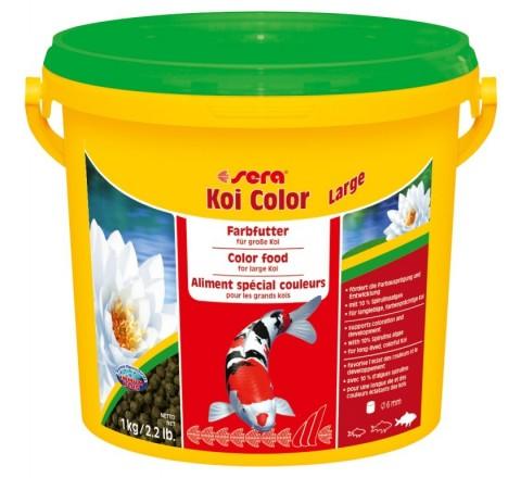 Sera Koi Color LARGE da 3800 ml - Mangime per lo sviluppo di Koi oltre 25 cm