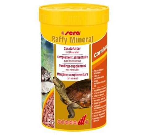 Sera Raffy Mineral - Mangime per tartarughe Acquatiche 250g 1000 ml