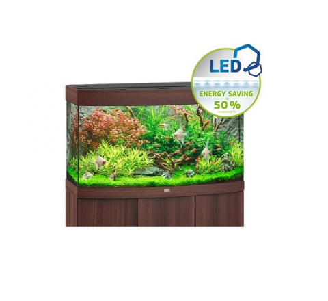 ACQUARIO JUWEL VISION 180 COMPLETO ACCESSORIATO MARRONE LUCE LED