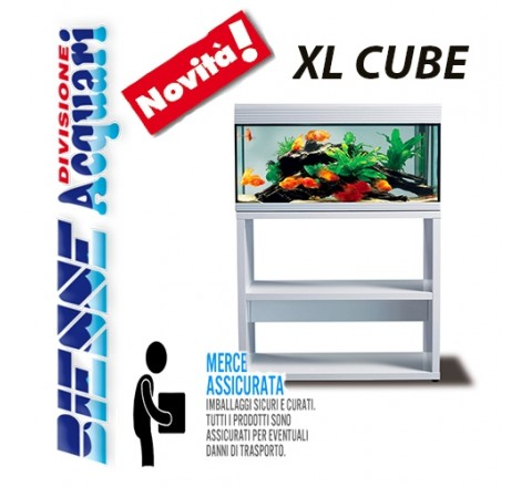 ACQUARIO ASKOLL PURE XL HIGH CUBE LED COMPLETO CON MOBILE BIANCO