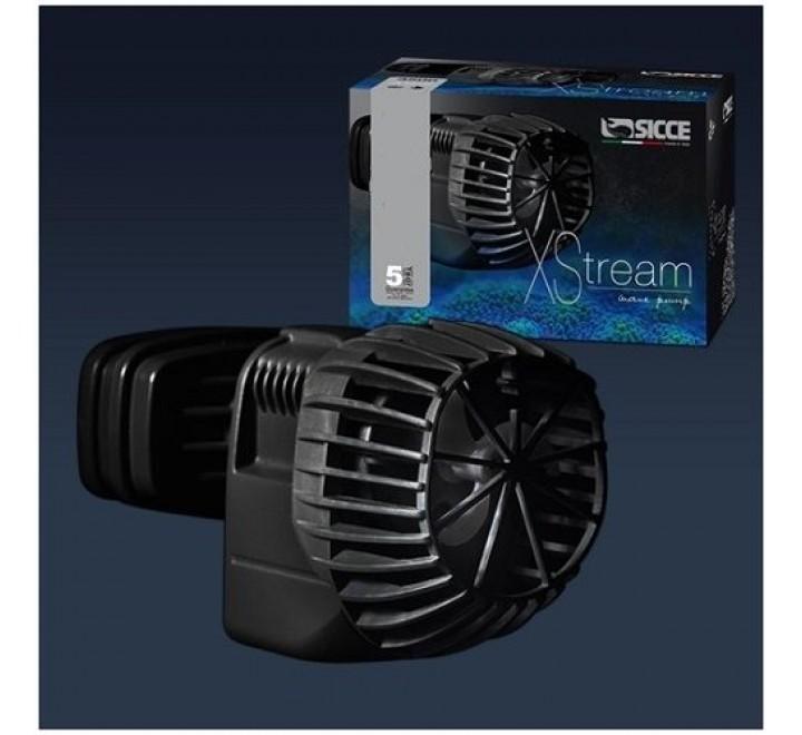 POMPA DI MOVIMENTO SICCE XSTREAM 6500 8 WATT PER ACQUARI MARINI