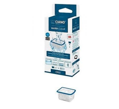 CIANO CF80 WATER CLEAR M RICAMBIO FILTRO INTERNO PER ACQUARI AQUA 60 E 80