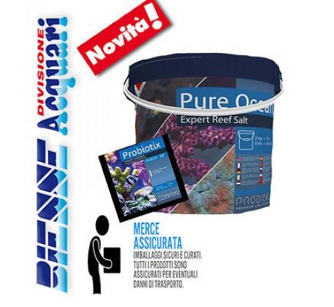 Prodibio Pure Ocean Sale 25 kg per Acquari marini omaggio 15 fiale Probiotix