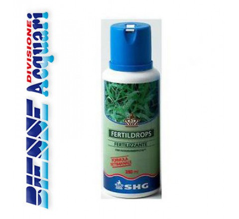 FERTILIZZANTE LIQUIDO SHG FERTILDROPS CONF.100 ML PER ACQUARIO