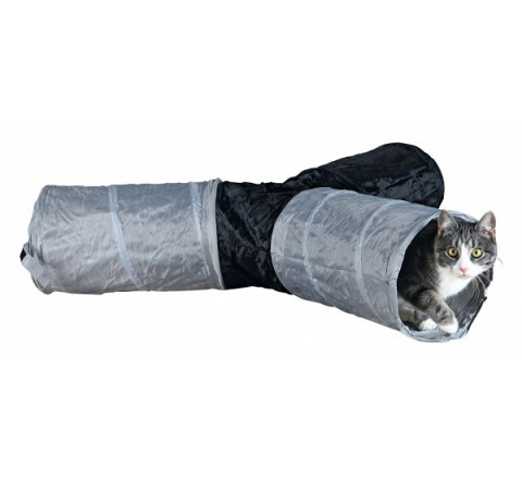 TRIXIE PLAY TUNNEL NYLON GATTO CAT GIOCO PER ANIMALI PICCOLI CONIGLI