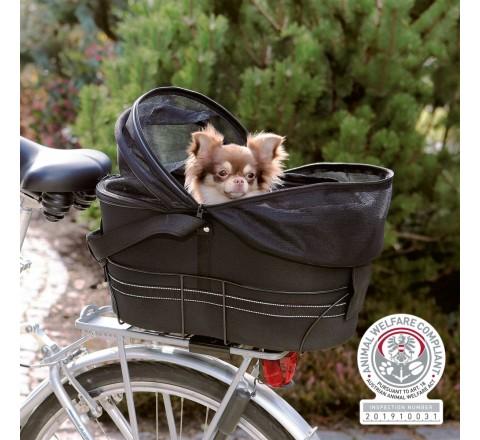 Trixie 13118 borsa trasportino per bici da fissare su porta pacchi