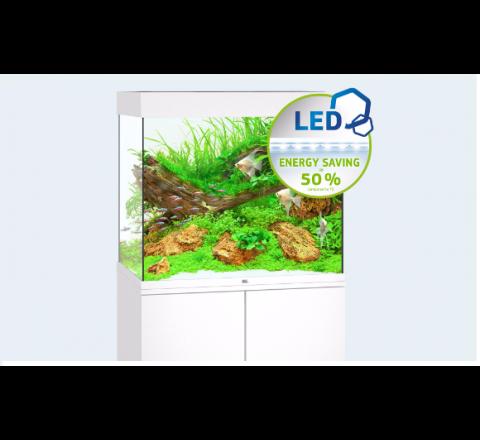NUOVO ACQUARIO JUWEL LIDO 200 COMPLETO ACCESSORIATO 2 X LAMPADE LED BIANCO