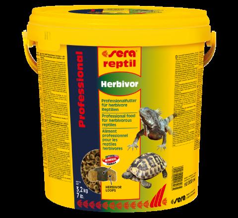 Sera Reptil Professional Herbivor 10 Lt - Mangime per Rettili Erbivori