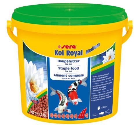 Sera Koi Royal Medium da 3800 ml - Mangime per lo sviluppo ottimale Carpe Koi