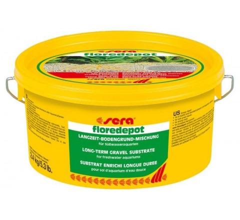 SERA FLOREDEPOT SUBSTRATO PER ACQUARIO FERTILIZZANTE 2,4 Kg / 5,3 lb.